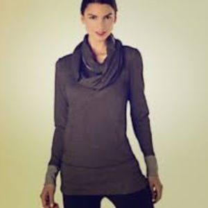 Lucy Activewear Infinity Scarf Tunic